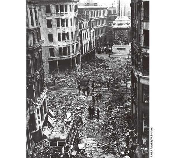 ロンドン市民を戦火から守った、エア・レイド・シェルター -