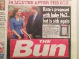 キャサリン妃が第2子妊娠