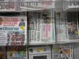 日本の大金星を報じる英国の新聞