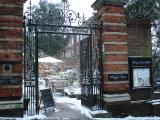 ロンドン雪景色