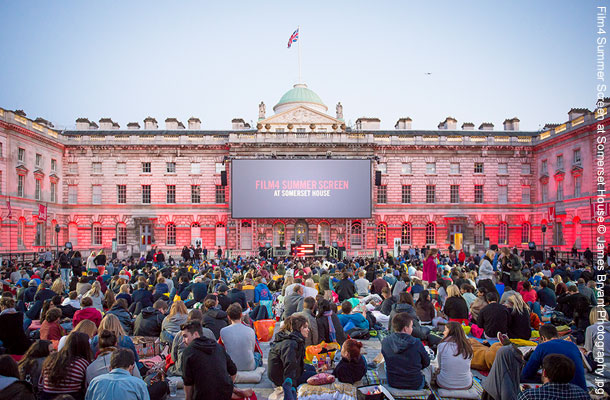 Film4 Summerscreen at Somerset House