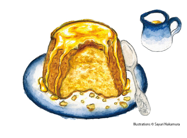 Steamed Syrup Sponge Pudding