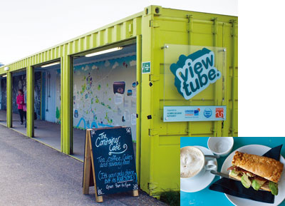 The Container Cafe at The View Tube